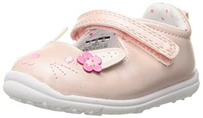 Carters Every Step Gigi Baby Girls Mary Jane Flat, Pink 3 M US Infant