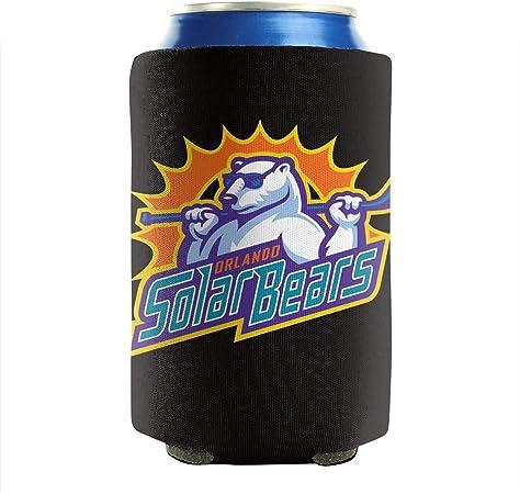Island Sea Turtles Ocean Beer Can mangas de neopreno Beer Beverage 12-16 oz Botellas Can Sleeve Pack de 2 Plain Can Cooler Sleeves: Amazon.es: Hogar