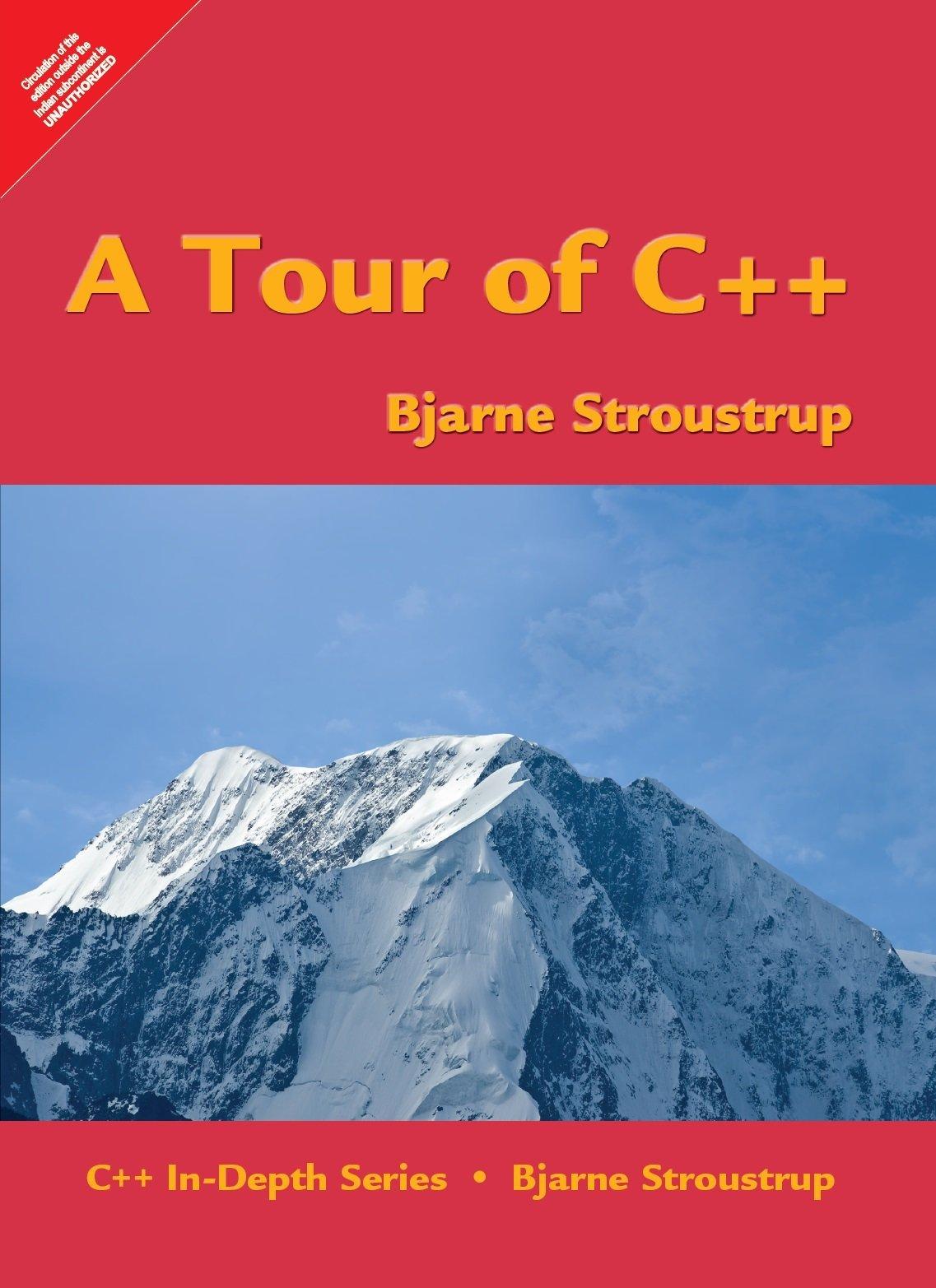 TOUR OF C++ A [Paperback] [Jan 01, 2017] STROUSTRUP (Englisch) Taschenbuch – 2017 9332555338