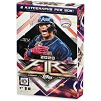 $149 » 2020 Topps MLB Fire Baseball Trading Card Hobby Box - 2 Autographs - 20 packs - 120 Total Cards
