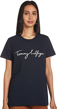 Tommy Hilfiger Heritage Crew Neck Graphic tee Camiseta para Mujer