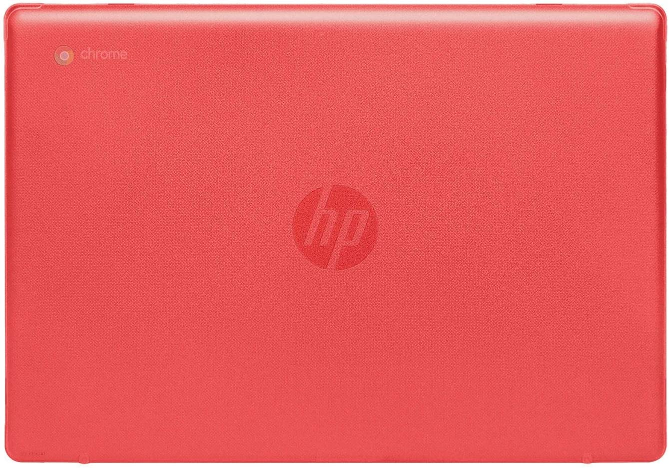 """mCover Hard Shell Case for 2020 14"""" HP Chromebook 14 G6 (NOT Compatible with Older HP C14 G1 / G2 / G3 / G4/ G5 Series) laptops (Red)"""