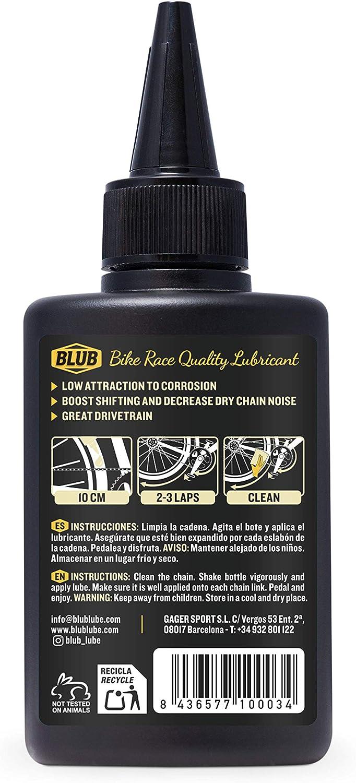 BLUB 8436577100065 Lubricante Cera para Bicicletas, 15ml, Amarillo ...