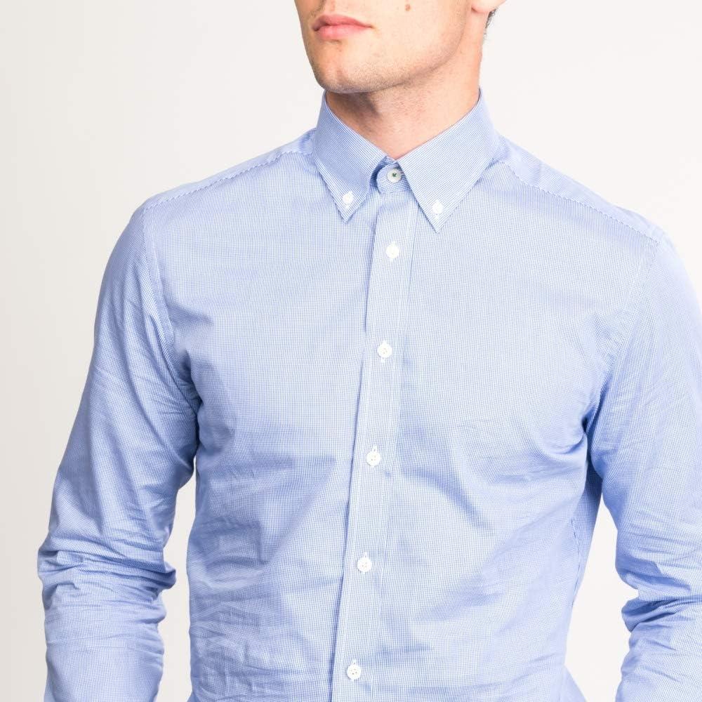 Hackett Moña A Camisa Para Hombre La Raya (aw16) XL White: Amazon.es: Ropa y accesorios