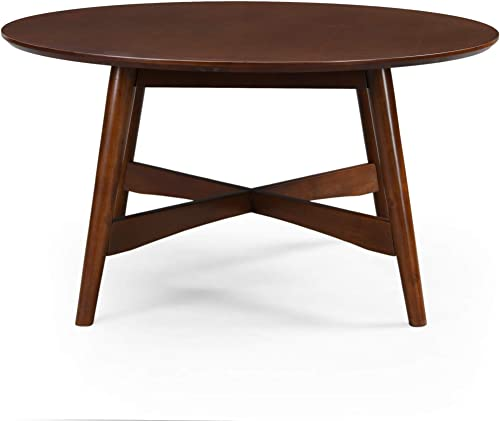 Christopher Knight Home Behrens Mid-Century Modern Wood Coffee Table