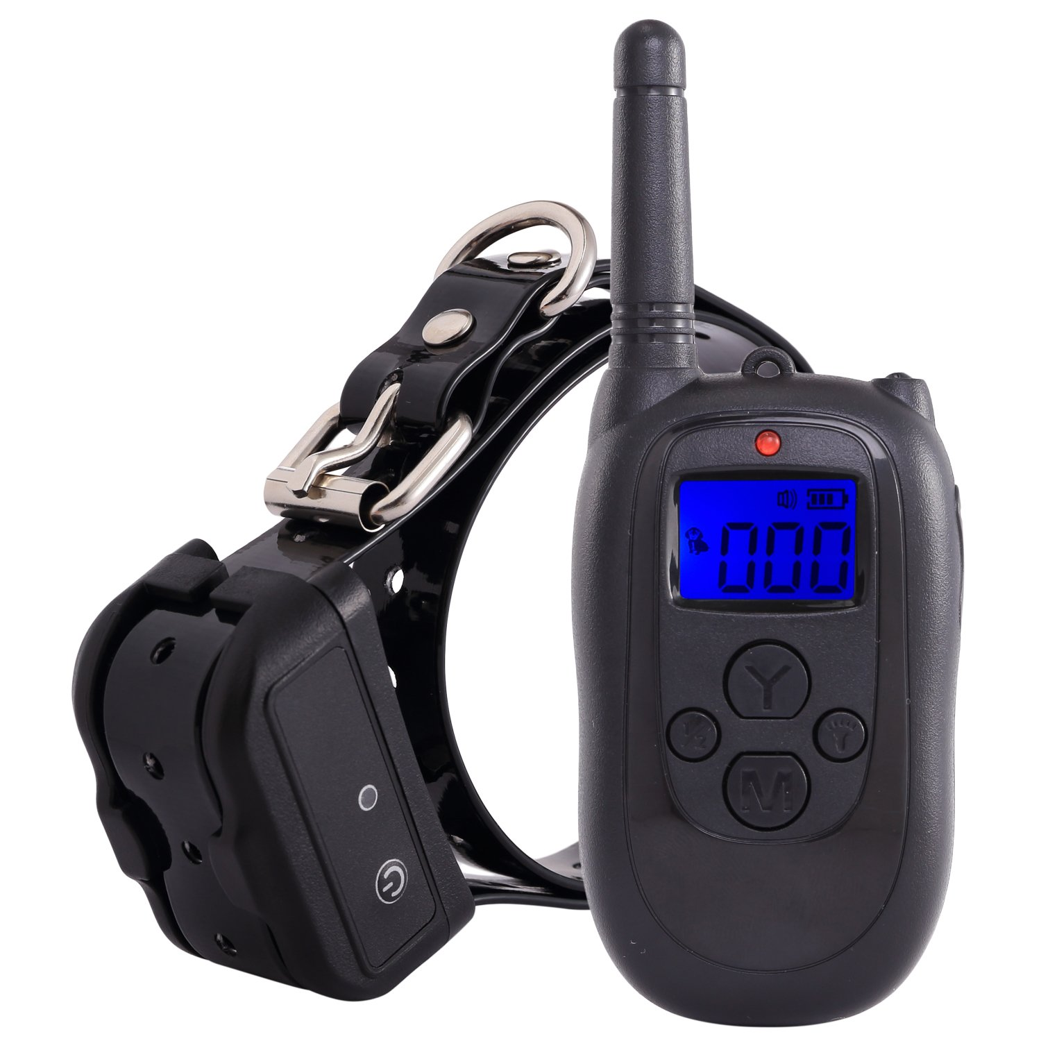 Petism Dog Shock Collar with Remote - Waterproof and Rechargeable Electronic