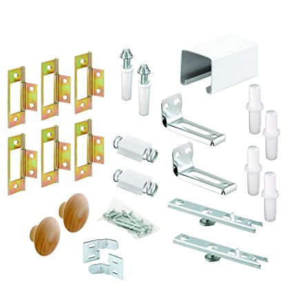 Prime-Line Products 164688 Bi-Fold Closet Track Kit, 60-Inch, 4 Door ...