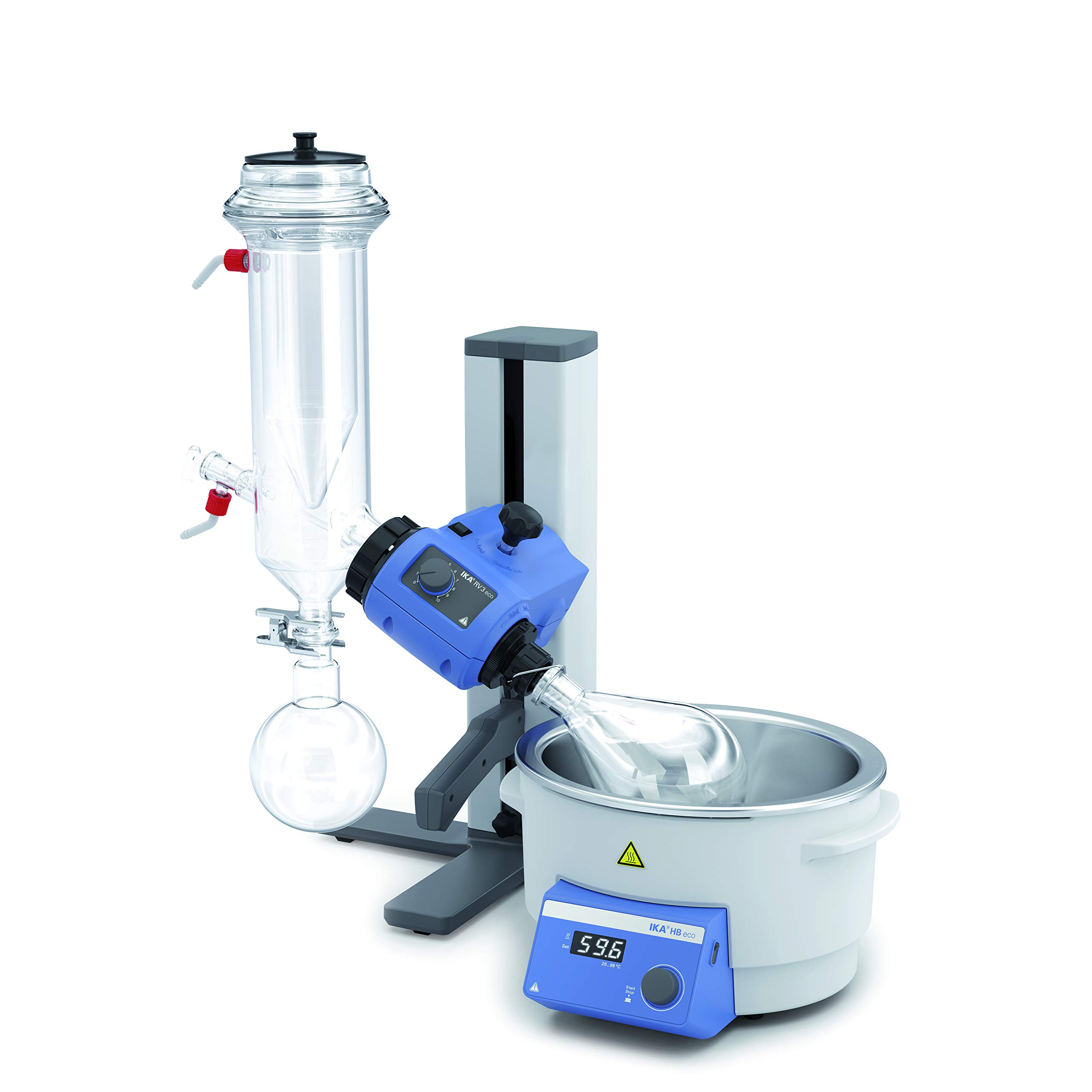 RV 3 with Dry ice Condenser