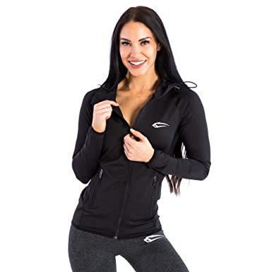 ccfa9ad12be614 SMILODOX Jacke Damen 'Allround' | Laufjacke für Sport Training & Freizeit |  Trainingsjacke -