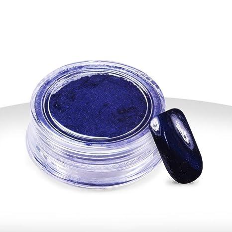 Ocibel – polvo magnético Cat Eye azul – 3 G – Manicura, uñas postizas y