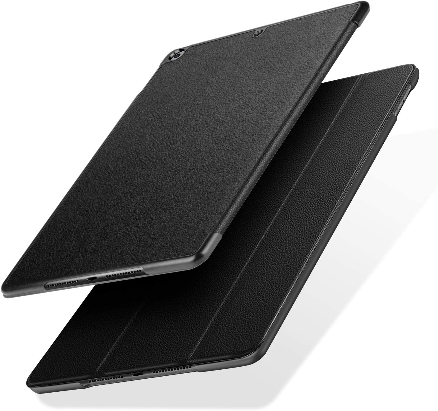 J&D Case Compatible for iPad 10.2 inch 2019/2020 Case, Protective Shock Resistant Rugged Case for iPad 10.2 inch (Release in 2019/2020) Case, with Auto Sleep/Wake Feature - Black