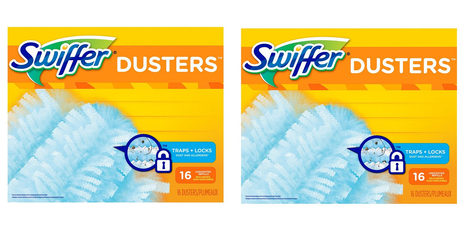 Swiffer 180 Dusters BvvJp Refills Unscented, 16 Count (2 Pack)