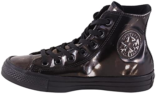 Converse Unisex adulto Chuck Taylor ALL STAR MONO LEATHER HI Scarpe Da Ginnastica