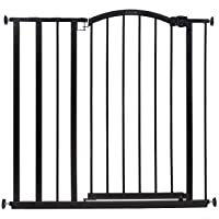 """Summer Extra Tall Decor Safety Baby Gate, Fits Openings 28.75-39.75"""" Wide, Metal, for Doorways & Stairways, 36"""" Tall…"""