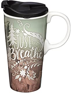Amazon Spoontiques Positive Affirmations Travel Mug White