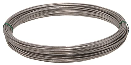 Coil Wire | Hillman 122065 Galvanized Solid Wire 14 Gauge 100 Ft Coil