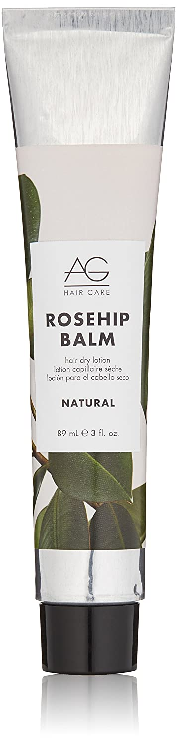 AG Hair Natural Rosehip Balm Hair Dry Lotion, 3 Fl Oz