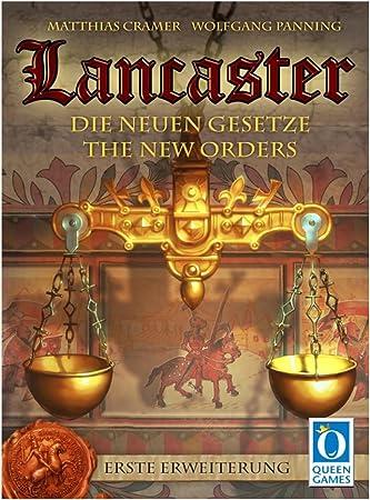 Queen Juegos - Lancaster Juego de Mesa, Las Nuevas leyes, de expansión para Lancaster: Amazon.es: Juguetes y juegos