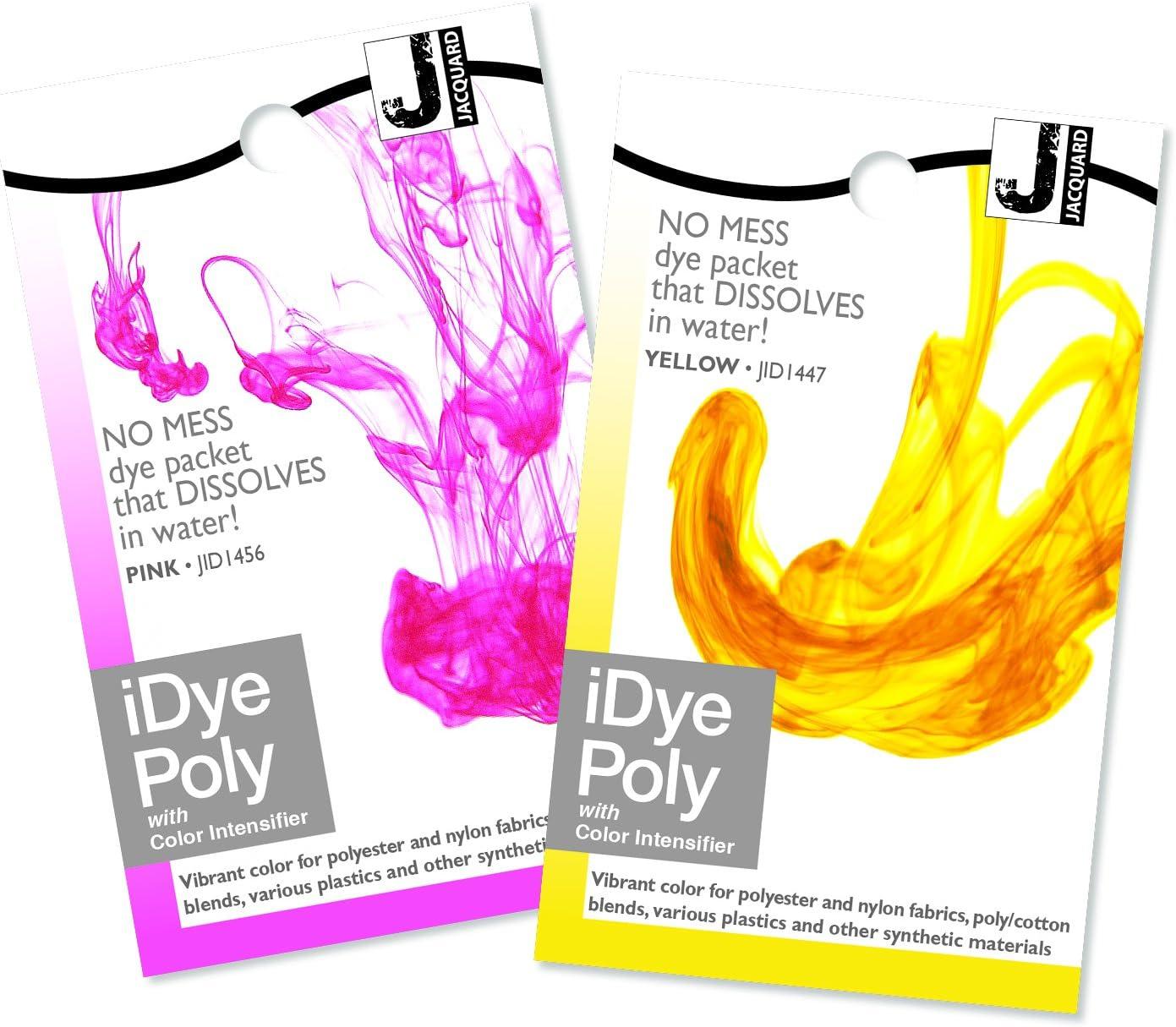 Stoff Farbstoff f/ür Polyester und Nylon Verschiedenen Farben Erh/ältlich Jacquard iDye Poly - Orange