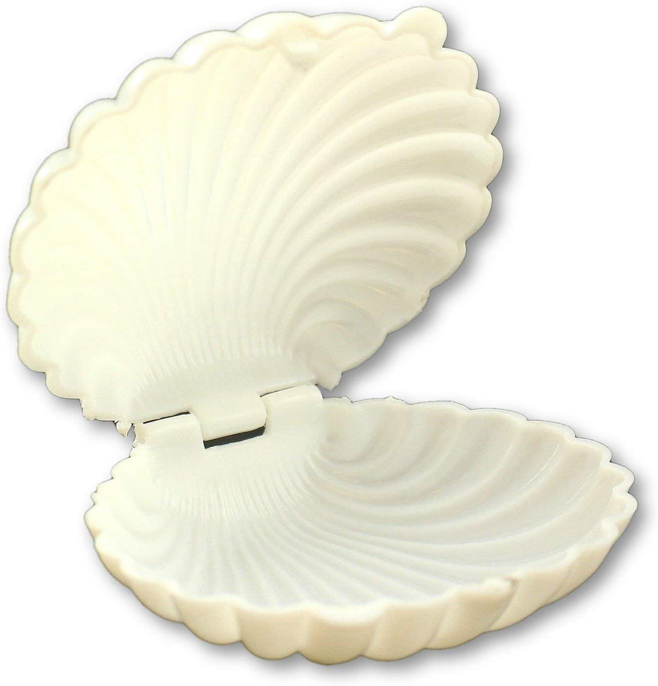 Clam Shell Chocolate Candy Mold Beach Under the Sea Wedding Luau Clamshell