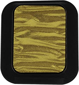 Finetec Pearlescent Watercolor Pan Refill - Metallic Arabic Gold (F0620)