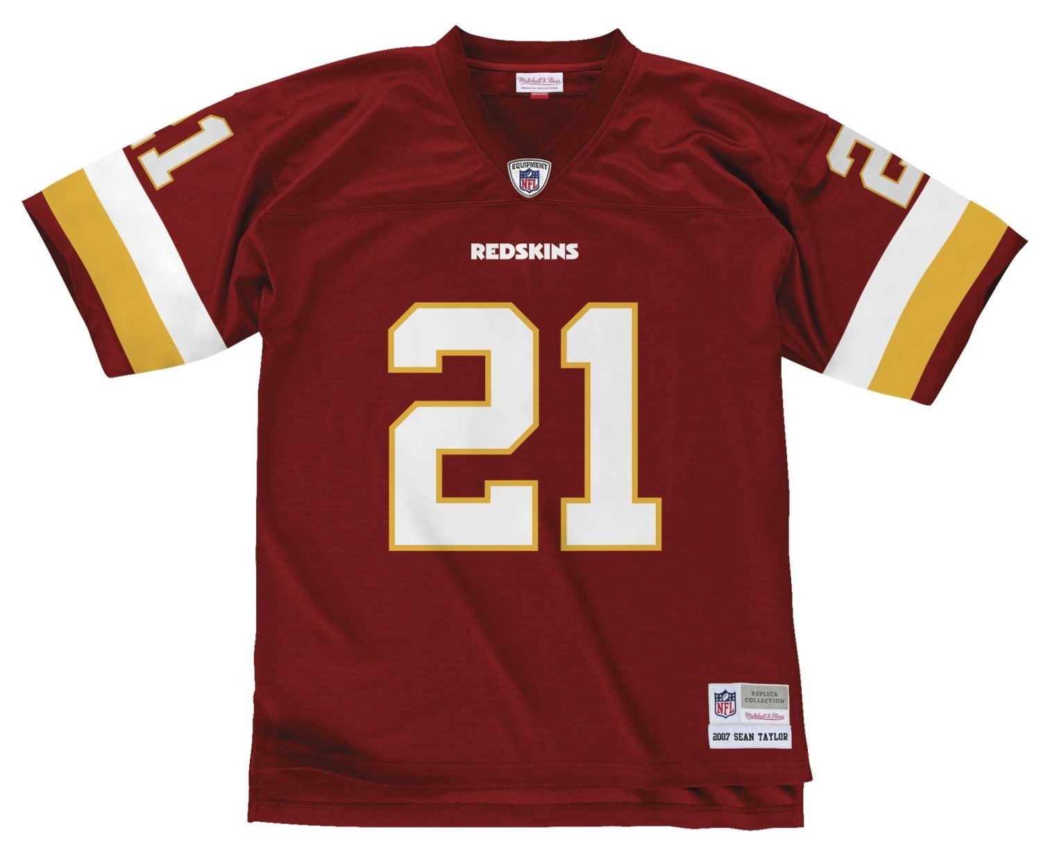 Amazon.com   Mitchell   Ness Washington Redskins Sean Taylor Throwback  Replica Jersey   Sports   Outdoors 3cc5f4967