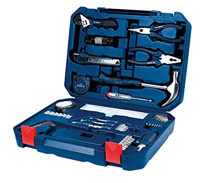 Bosch 2.607.002.790 All-in-One Metal Hand Tool Kit (Blue, 108-Pieces ...