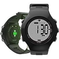 EZON GPS Running Smart Watch mit handgelenkbasiertem Herzfrequenz- und Trainings-Fitness-Tracker Kompatibel mit Android IOS Phone