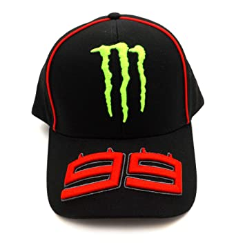 Jorge Lorenzo 99 Moto GP Monster Energy Baseball Cap Official 2017