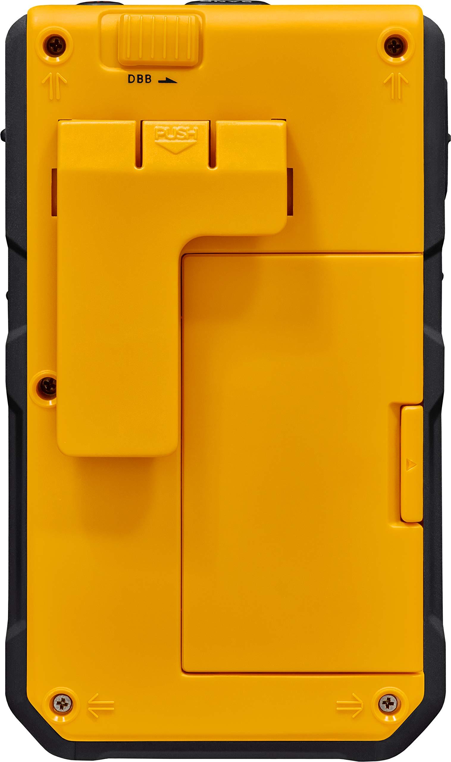 Sangean DT-800YL AM / FM / NOAA Weather Alert Rechargeable Pocket Radio (Yellow) by Saugeen America, Inc. (Image #5)