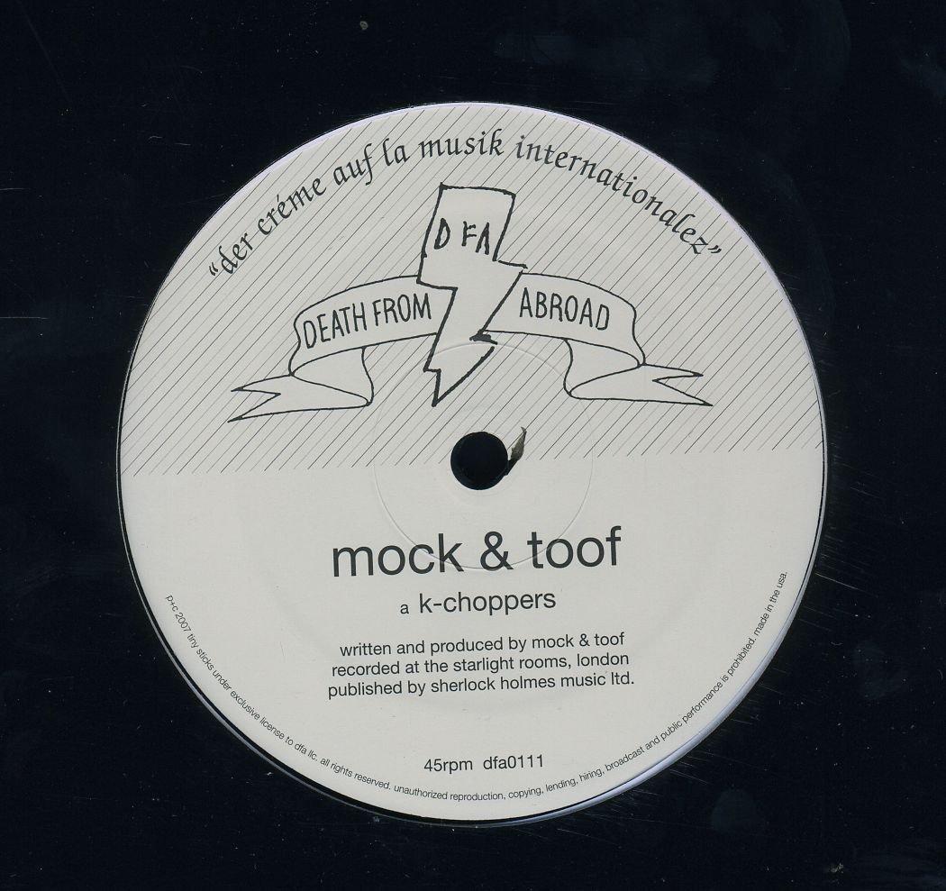MOCK & TOOF - K-CHOPPERS