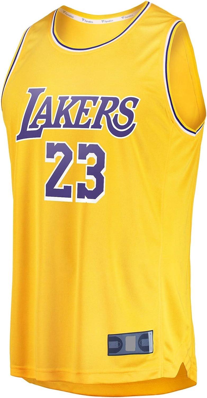 Sportssweat James Basketball Trikot Los Sportswear Angeles Herren LeBron Polyester #23 Fast Break Jersey Icon Edition Gold