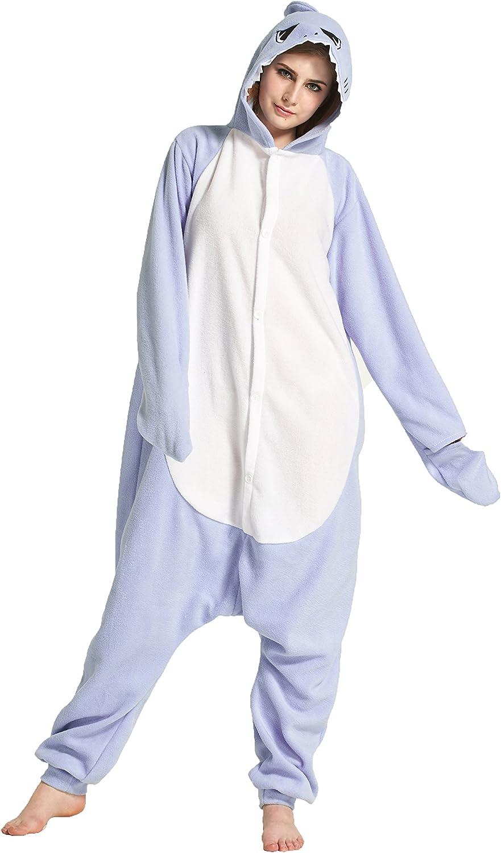 MizHome Shark Hooded Pajamas Kigurumi Cartoon Cosplay Shark