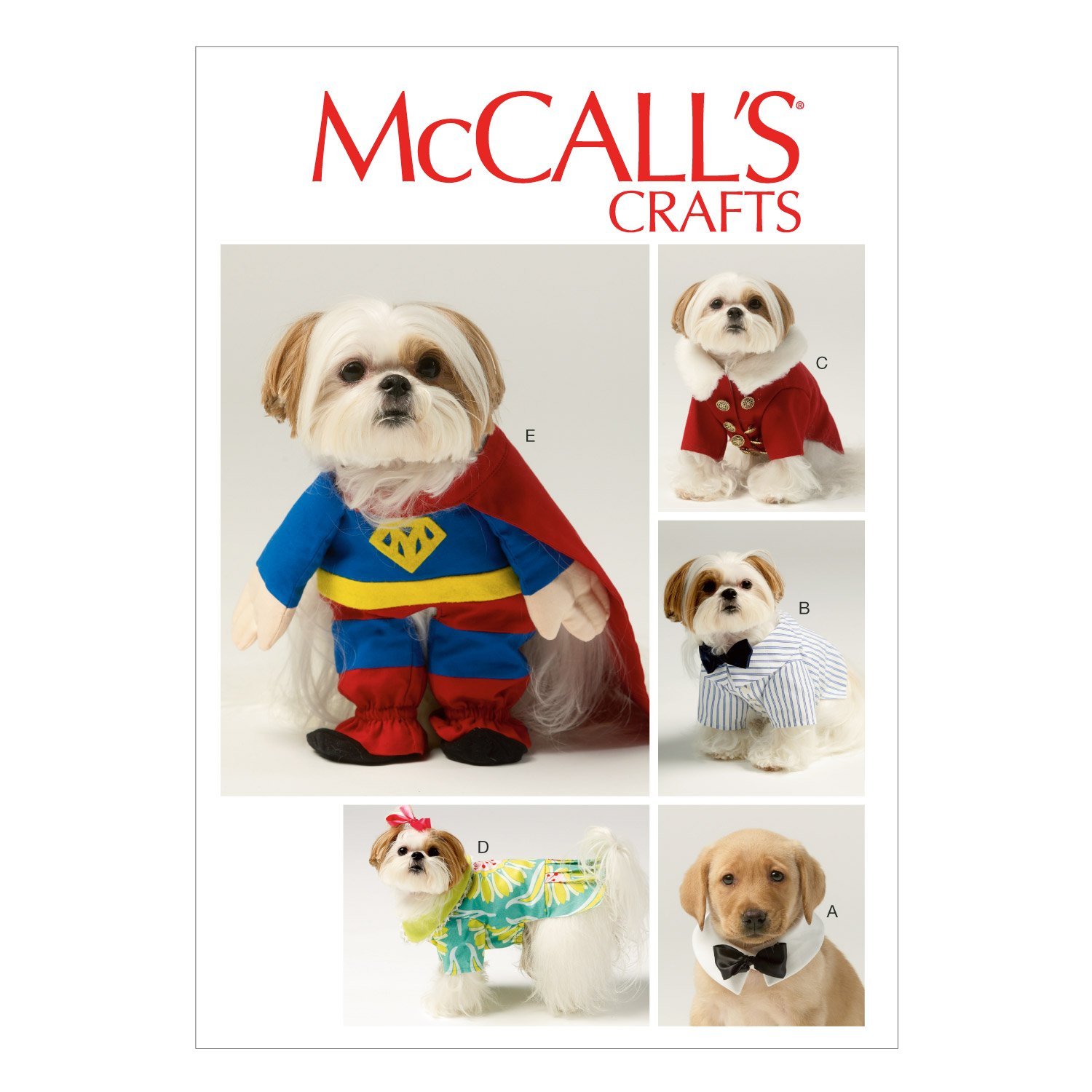 Amazon.com: McCall Pattern Company M6862 Pet Clothes and Costume ...