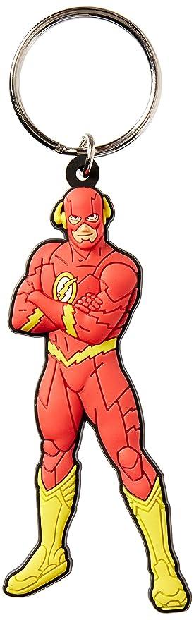 DC Comics Justice League The Flash Soft Touch PVC Llavero ...