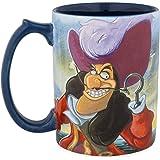 Disney Parks Peter Pan Captain Hook at Skull Rock Ceramic Coffee Mug New