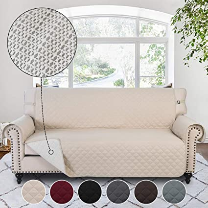 Amazon.com: RHF Anti-slip Sofa Cover, Couch Covers for 3 Cushion ...