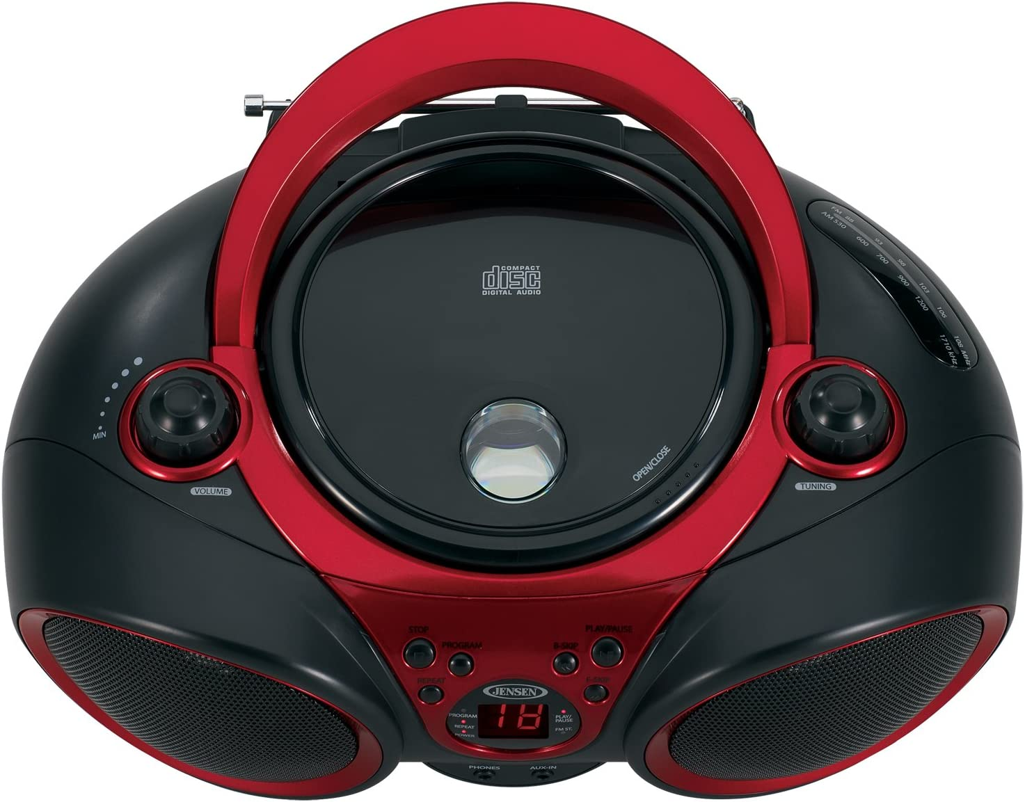 JENSEN Jensen Portable Stereo Cd Player With Am And Fm Radio
