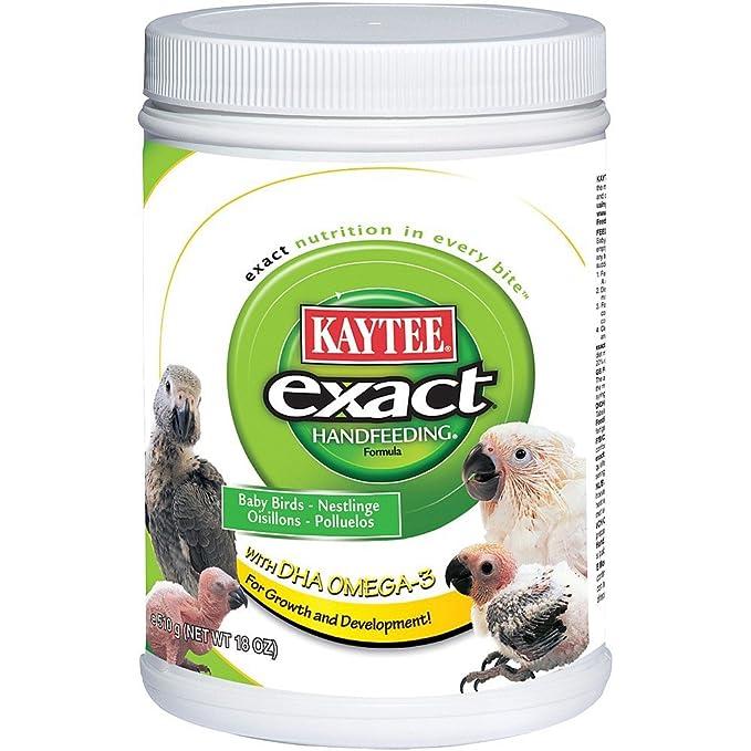 Kaytee Alimento de Mano Exacto para Aves de bebé, 18 oz: Amazon.es ...