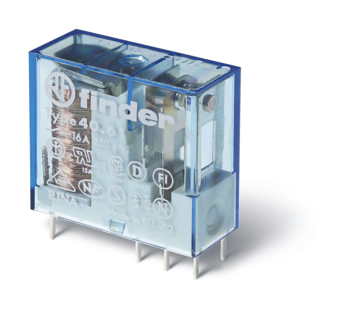 Finder 406190244000 Spdt 16a 24v Dc Coil Agsno2 Contact Hayward Goldline Aqualogic Main Printed Circuit Board Glxpcbmain Miniature Pcb Plug In Relay Industrial Scientific