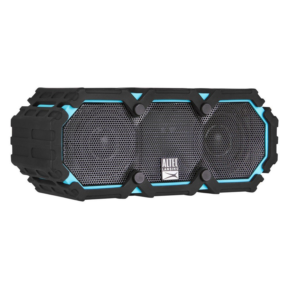 Altec Lansing IMW577-AB Lifejacket 2 Bluetooth Speaker, IP67 Waterproof, Shockproof, Snowproof, Everything-Proof Rating, 30-Foot Range, 16 Hours Of Battery Life, Aqua Blue by Altec Lansing (Image #4)