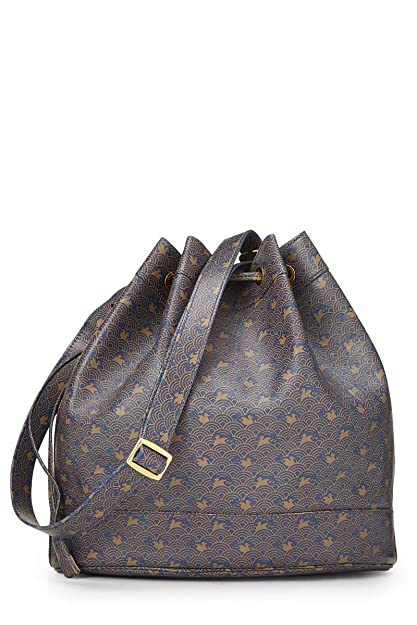 a81377fcc60d Image Unavailable. Image not available for. Color  Hermes Navy Calfskin  Market Bucket Bag (Pre-Owned)