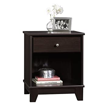 Sauder Camarin Side Table, Jamocha Wood Finish