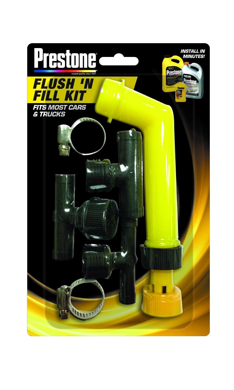 Prestone Af Kit Flush N Fill Automotive Jeep Wrangler Coolant