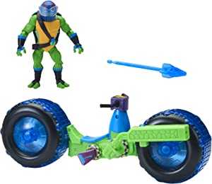 Rise of The Teenage Mutant Ninja Turtle Shell Hog with Leonardo