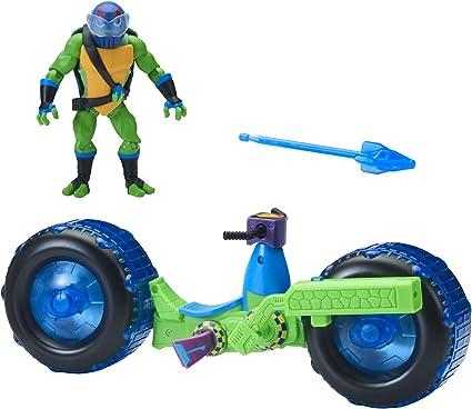 Rise of the Teenage Mutant Ninja Turtles Leonardo Fast shipping