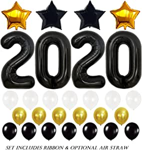 Amazon.com: 2020 Graduation Balloons Party Decorations ...