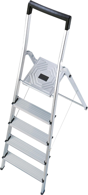 Hailo l40 easyclix - Escalera domestica l40 7 peldaños 212cm aluminio: Amazon.es: Bricolaje y herramientas