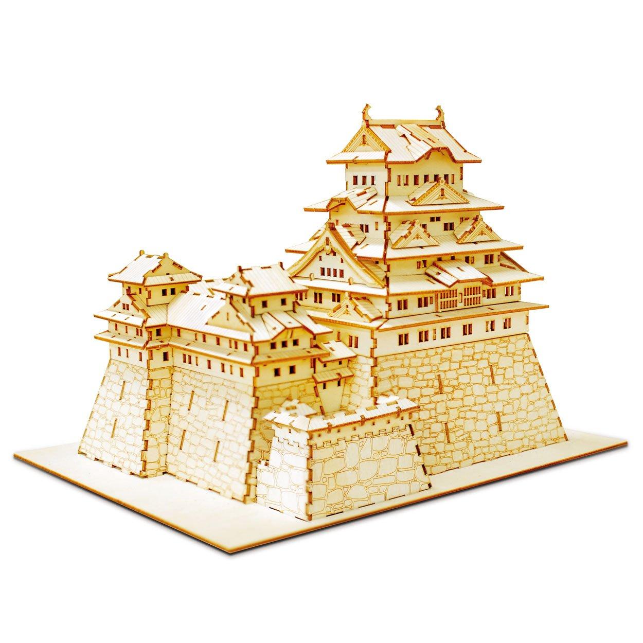 Wooden Art KIGUMI Himeji Castle (japan import)