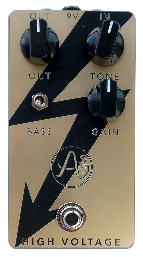 Anasounds High Voltage Gold · Pedal guitarra eléctrica